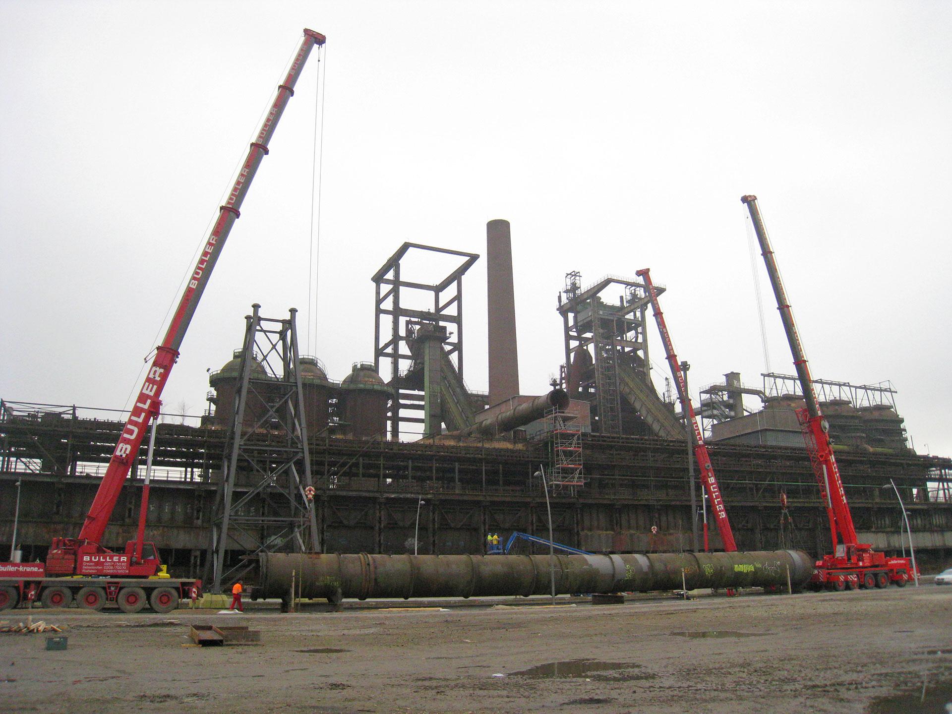 Buller_Kranvermietung_Industriebau