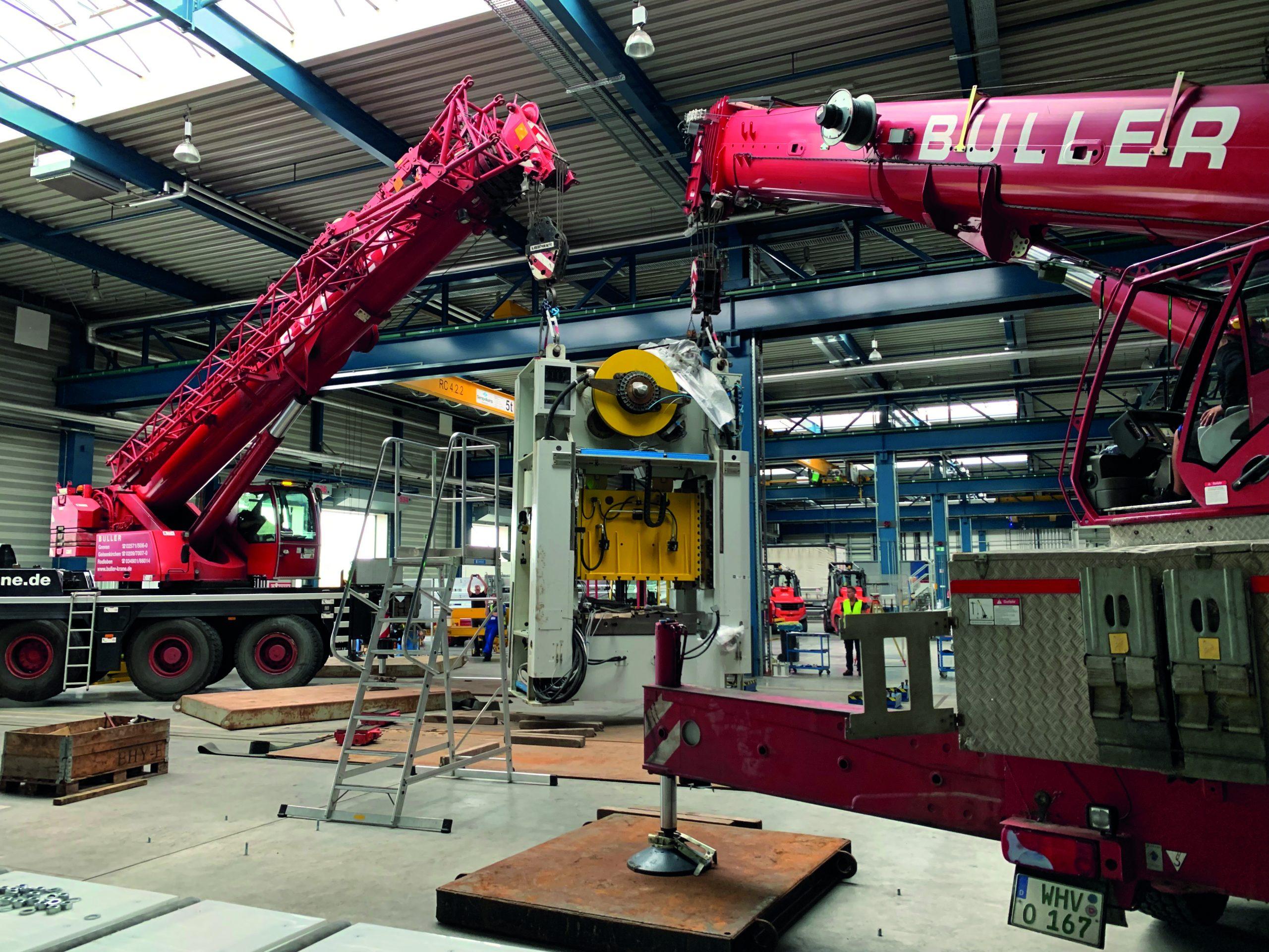 BULLER Industriemontage